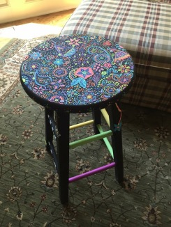 puffy paint stool